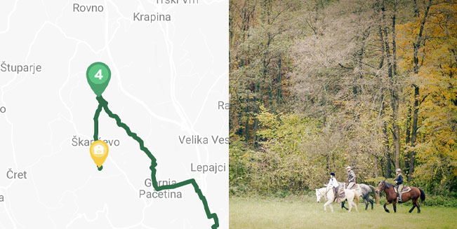 Equestrian trail number 4